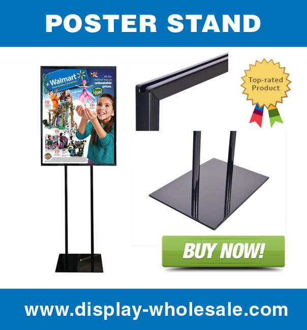 "Poster Stand Sign Holder Bulletin Display 22"" X 28"""