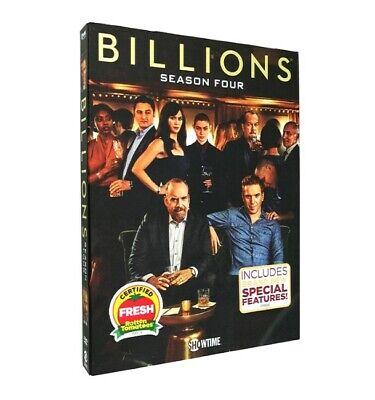 Billions The Complete Season 4 ( DVD, 2019, 4-Disc Set ) US Seller Free Shipping