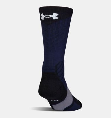 Under Armour, Dark Blue, Men's Basketball Crew Sock, Size Lg, .99 Shipping