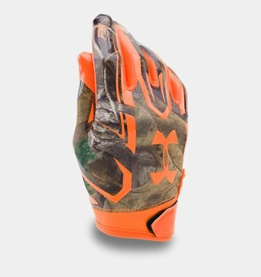 Under Armour Ua F5 Realtree Camo Youth Football Gloves Style 1285376 340