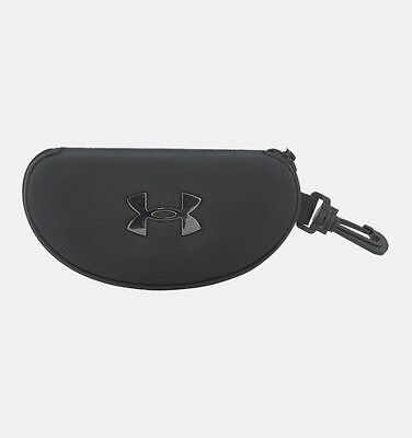 Under Armour UA Eyewear Hard Case with Clip Carry Case for Sunglasses