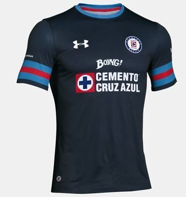 2016/2017 Under Armour Cruz Azul Mexico Soccer Jersey [1275133-469/Small] image