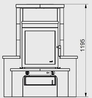 hark kaminofen dauerbrandofen avenso ecoplus naturstein 6 kw 4040396018339 ebay. Black Bedroom Furniture Sets. Home Design Ideas
