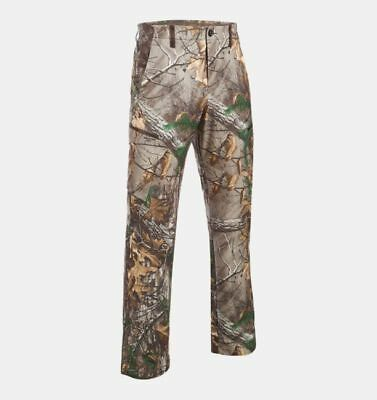 Under Armour Hunting Pants, Men's UA Stealth Reaper Early Season Camo 40X32 NWT Stealth Camo Pant