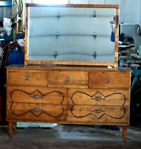 7 Drawer Retro Dresser