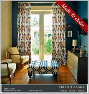 Modern Style Curtain(MADE TO ORDER) (P023)