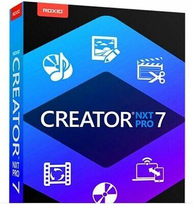 2020 ✔️ #1 Roxio Creator NXT Pro 7 License + Content ✔️ Download 3.5GB  File ✔️