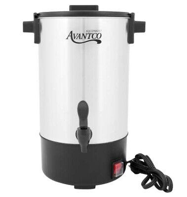 Electric Single 30 Cup Percolator Coffee Tea Beverage Urn Dripless Dispenser