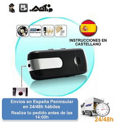 Usb pendrive con videocamara camara oculta grabacion espia (Envio express)