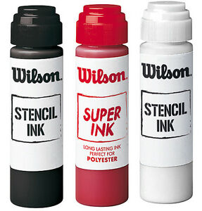 WILSON-TENNIS-STENCIL-INK-TENNIS-RACKET-STRING-STENCIL-INK