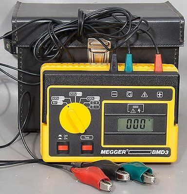 Avo Biddle-megger Bmd3 Portable Insulation Continuity Tester Catalog No 210601