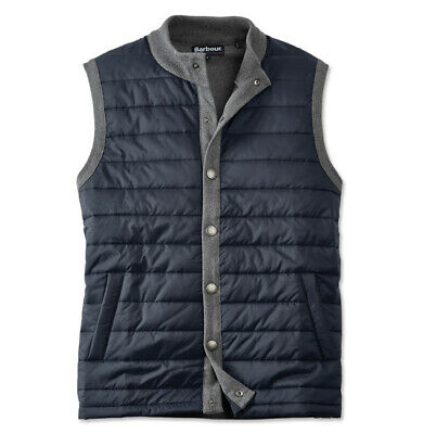 Barbour Essential Gilet Vest Grey MKN0920GY53 New Large L