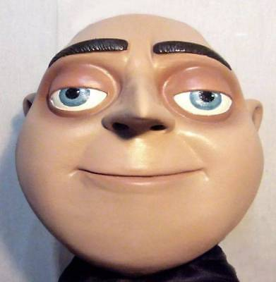 GRU LATEX MASK Costume Prop Halloween Despicable Me Cosplay Minions -- NOT CHINA