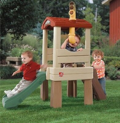 Toddler Slide Playset Climber Outdoor Playground Slides For Kids Backyard Set