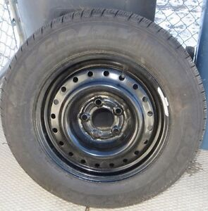 """15"""" Set of All Season Tires and Rims"""