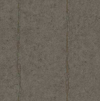 Tapete, Designtapete, moderne Interpretation, Steinplatte, Anthrazit, Kaffee ()