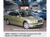BMW 3 series compact 1.8 ti