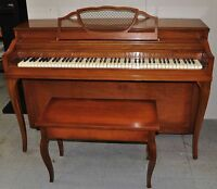 Spinet Piano by Winter
