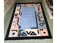 Quality Designer colourful rug for sale 4' x 6' or 122cm x 183cm