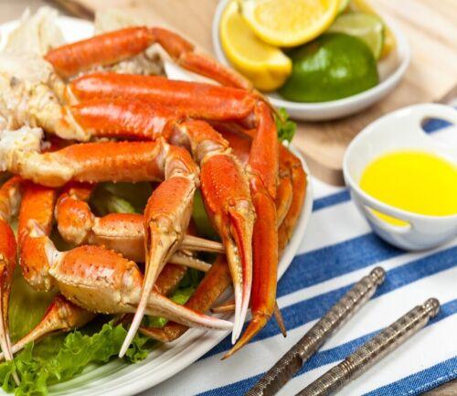 (3 lbs) 4 oz Canadian Snow Crab Leg Clusters- [FROZEN]