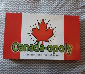 Canada-Opoly A Canadian game from Eh to Zed Collector Board Game