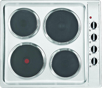 Baumatic BHS600.5SS Built-In Sealed Plate Hob