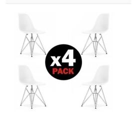 4x pieces of dining chairs