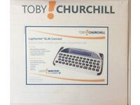 Toby Churchill Lightwriter SL40 Connect Keyboard