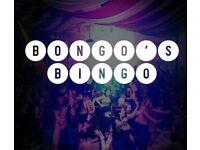 3 Bongo's Bingo Glasgow tickets 2.10.21