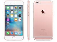 Brand new I phone 6s rose gold