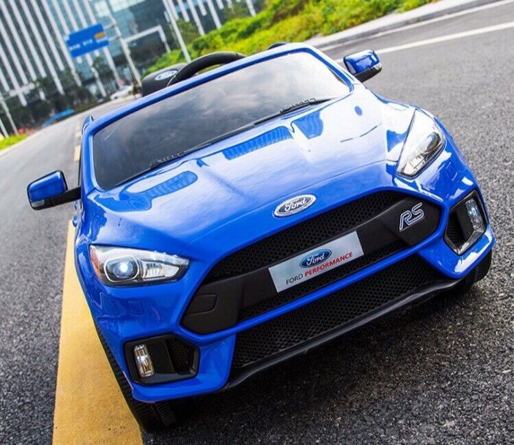 Licensed Ford Focus Rs Ride On Car With Remote Control Music