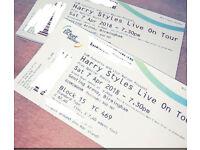 X2 Harry Styles tickets- 07.04.18