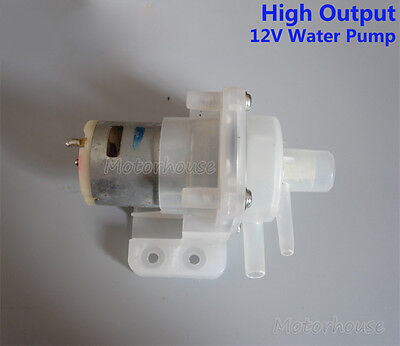 High Output Dc12v Mini Water Pump Powerful Small Water Pump Magnet Impeller Pump