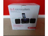 Hi-fi Microsystem - docking station - speakers - stereo