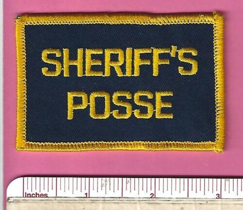 Broward County Sheriff Posse FL State of Florida Fla Police Rocker Tab Patch