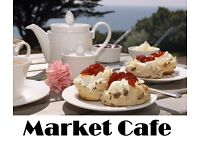 NOW LET! - Half Price £325 pcm Cafe in Weymouth Indoor Market - NOW LET!