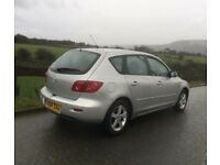 2004 Mazda 3 5 door EXCELLENT 43+ MPG/cheap tax/cheap insurance/easy parking/FULL 12M MOT £775 PX?