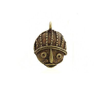 Pendant African Ashanti Tribal Ancestor Door Key Ethnic Bronze 5124