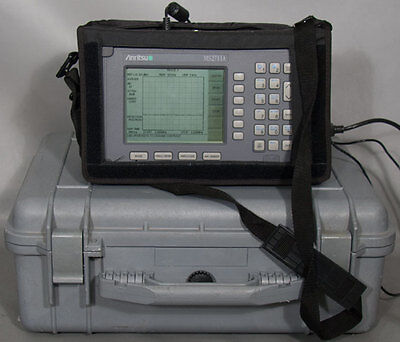 Anritsu Ms2711a Hand Held Spectrum Analyzerpower Monitor 100 Khz - 3 Ghz Opt 5