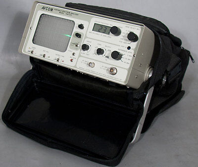 Avcom Psa-37d Portable 1 Mhz To 4.2 Ghz Spectrum Analyzer