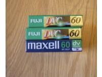 mini DV CASSETTES for Camcorder. New , sealed , immaculate,