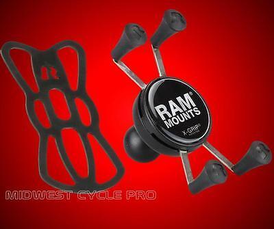 "RAM Mount X-Grip Phone Holder w/1"" Ball - iPhone 6 7 GALAXY S4 S5 RAM-HOL-UN7BU"