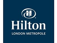 Logistics manager - Hilton London Metropole