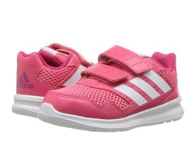 New adidas LittleGirl's Altarun Cf Running Shoes size 9k Pink Toddler