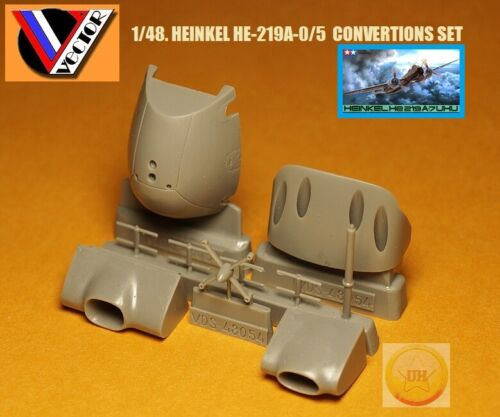 "1/48. Heinkel He-219A-0/5 convertions set,by ""Vector"" VDS 48-054"