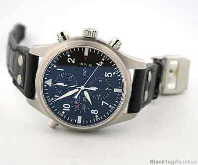 IWC Pilot's Split Double Chronograph Automatic Mens Watch IW377801