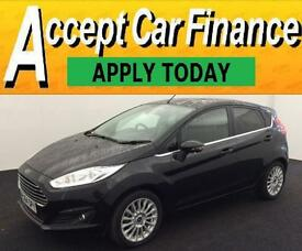 Ford Fiesta 1.0 ( 125ps ) EcoBoost ( s/s ) 2014.5MY Titanium FROM £36 PER WEEK!