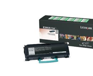 Genuine Lexmark Toner Cartridge E260A11A Black