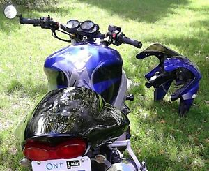 Motorcycle Kawasaki Ninga zx9r Blu/Purp Metalic for Sale Peterborough Peterborough Area image 1
