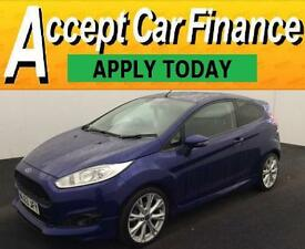 Ford Fiesta 1.0 ( 125ps ) EcoBoost ( s/s ) 2013.25MY Zetec S FROM £38 PER WEEK